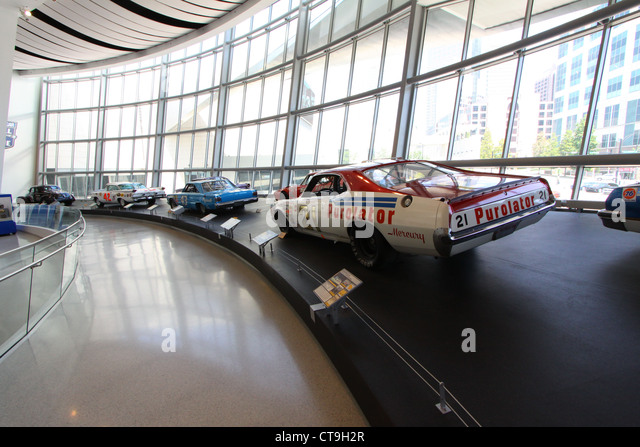 Winston cup stock photos winston cup stock images alamy for Charlotte motor speedway museum