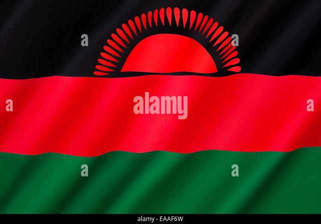 Flag of Malawi - Stock Image