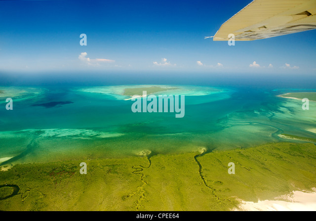 Quisiva island in the Quirimbas archipelago off the coast of Mozambique. - Stock Image