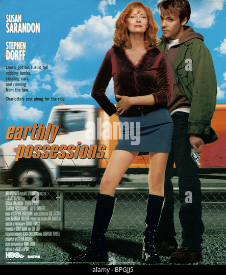 SUSAN SARANDON & STEPHEN DORFF EARTHLY POSSESSIONS (1999) - Stock Image