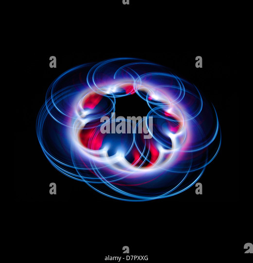 Light Painting - Stock Image