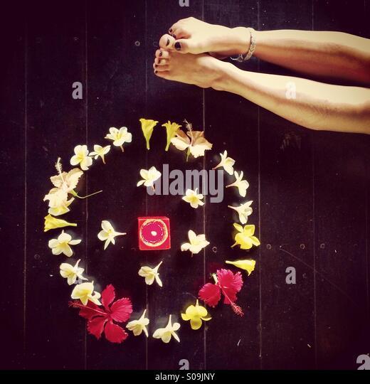Yoga for life - Stock-Bilder