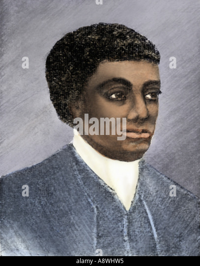 Mathematician and astronomer Benjamin Banneker - Stock Image