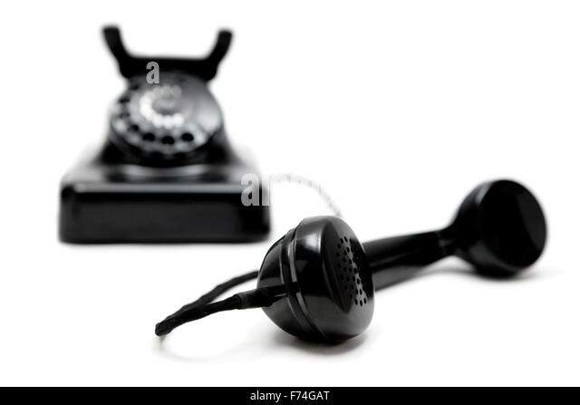 Vintage Telephone - Stock Image