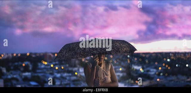 Argentina, Let rain fall - Stock Image