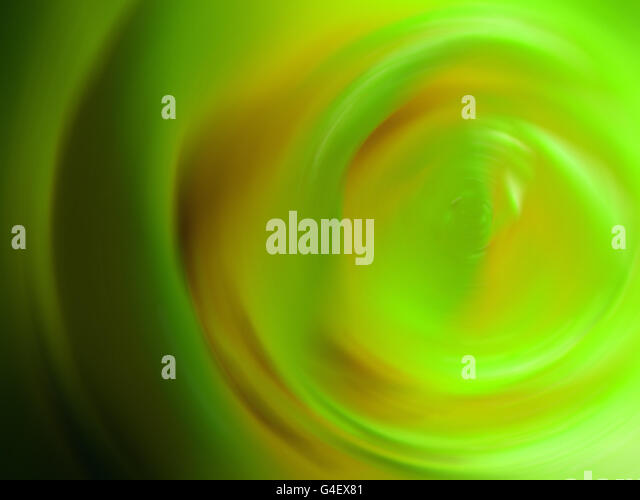 Rosy Spiral - Stock Image