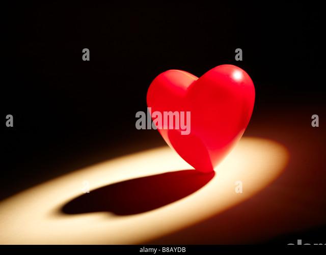 Valentine Heart horizontal - Stock Image