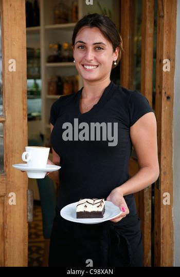 Bakery 29 cafe,Tel Aviv, Israel. - Stock Image