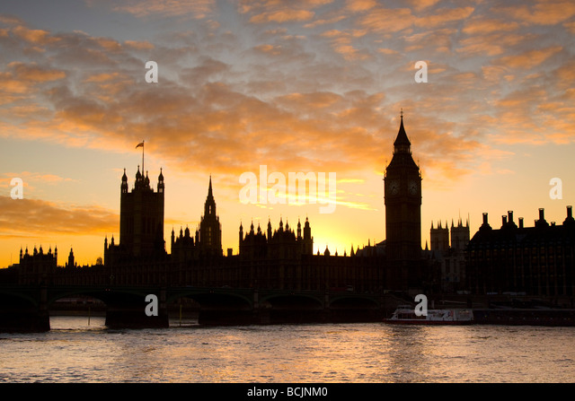 Houses of Parliamant, London, England - Stock-Bilder