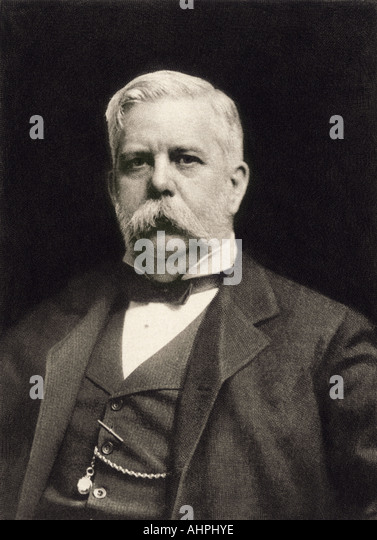 George Westinghouse circa 1900 - Stock Image