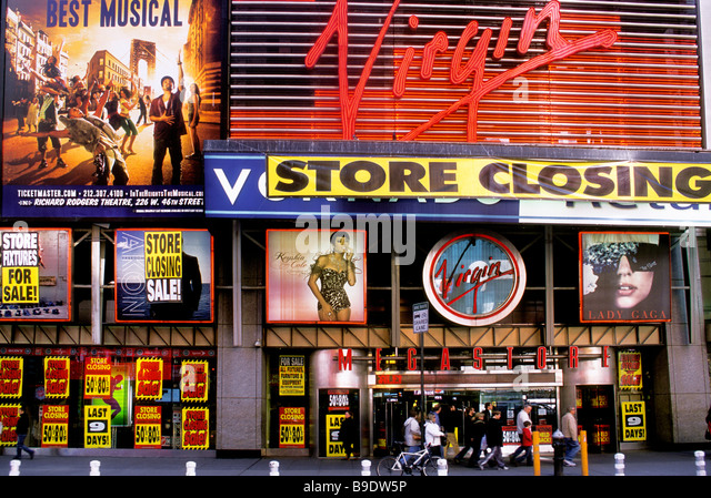 Last Virgin Megastore in New York Closes - nytimescom