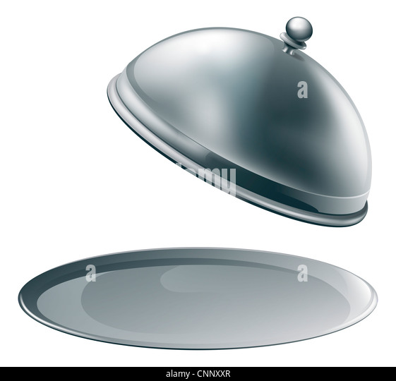 Cloche Stock Photos amp Cloche Stock Images Alamy : an open empty metal silver platter or cloche with space to place object cnnxxr from www.alamy.com size 561 x 540 jpeg 31kB