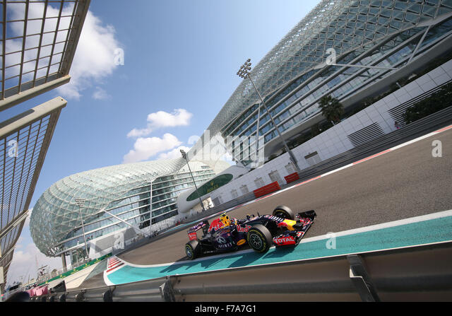 Abu Dhabi. 27th November, 2015. Motorsports: FIA Formula One World Championship 2015, Grand Prix of Abu Dhabi, #26 - Stock-Bilder