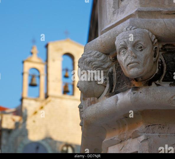 Sibenik Cathedral of st. James - Croatia - Stock-Bilder