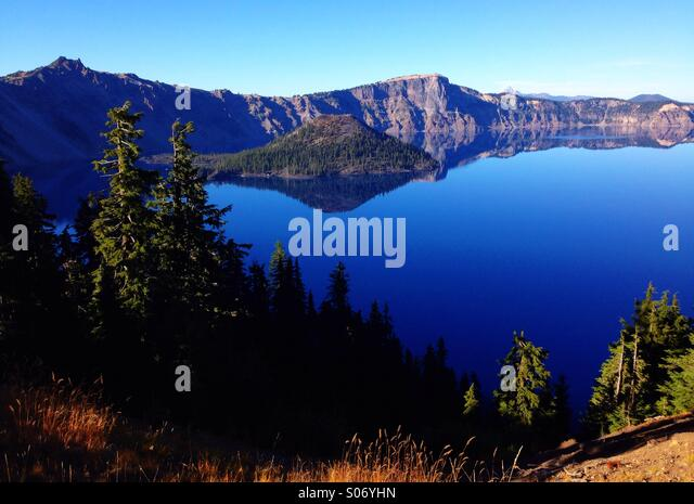 Crater Lake National Park - Stock Image
