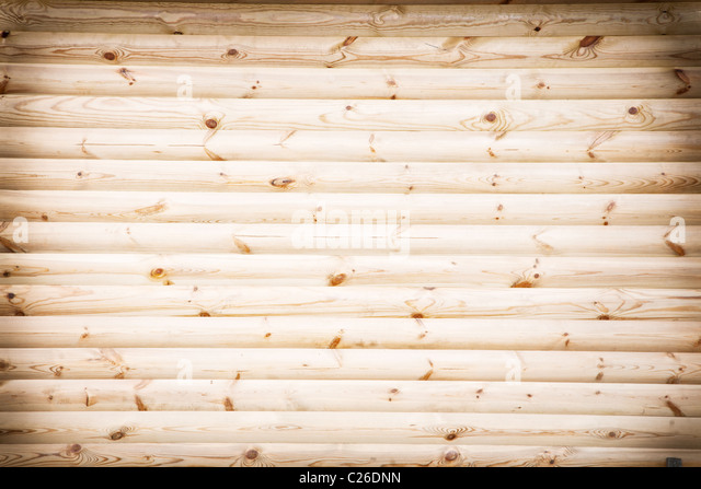 Wood wall - Stock Image