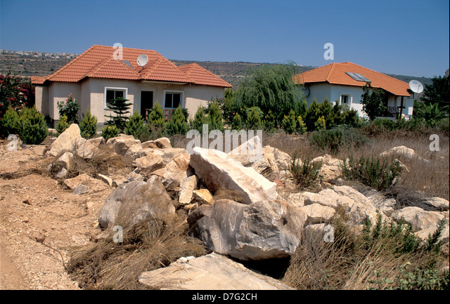 community settlement of Gita, Western Galilee - Stock Image