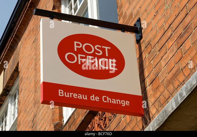 De post stock photos de post stock images alamy - Bureau de change paris 9 ...