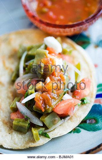 Open Taco - Stock Image