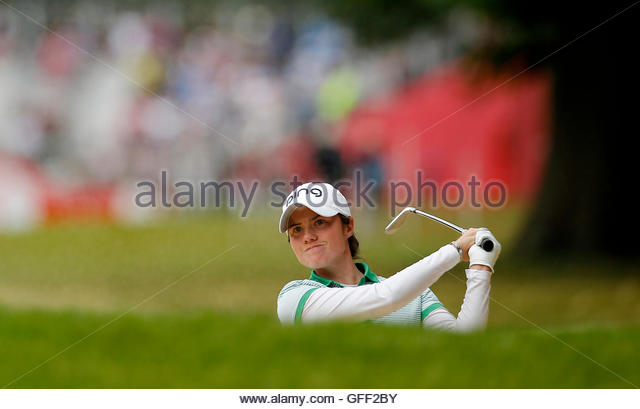 Britain Golf - RICOH Women's British Open 2016 - Woburn Golf & Country Club, England - 31/7/16 Ireland's - Stock Image