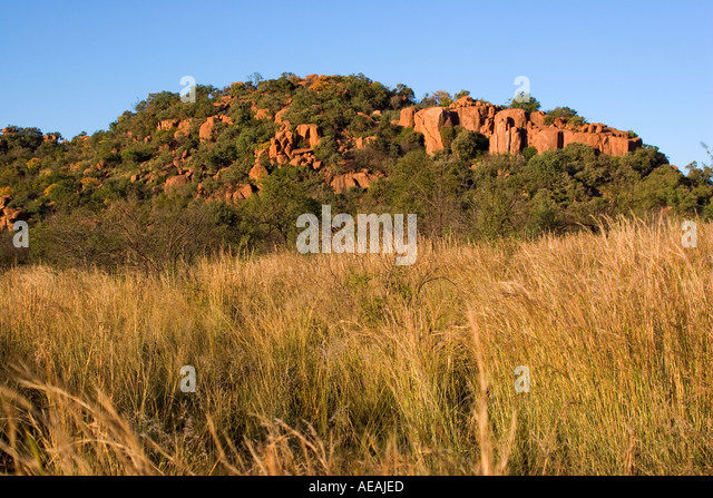 Rock formation - Stock Image