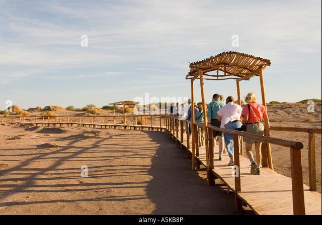 Chile Aldea de Tulor village ruins Atacama Desert, archaeology, - Stock Image