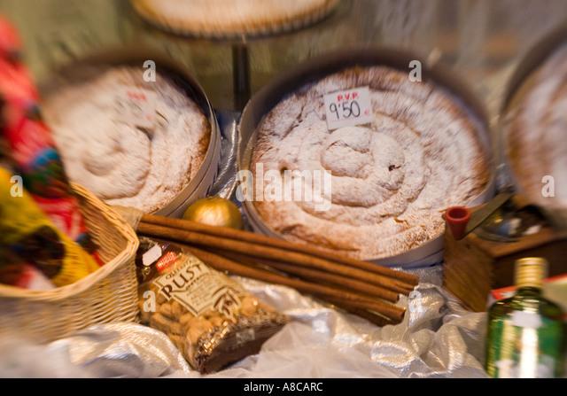 Mallorca Palma Forn de Teatre pastry - Stock Image