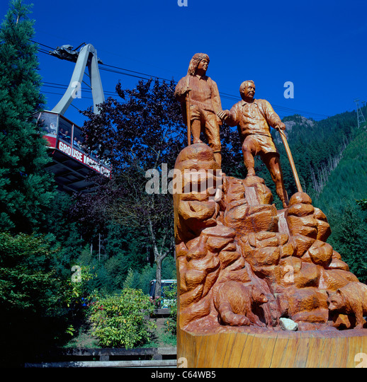 Chain saw sculpture stock photos