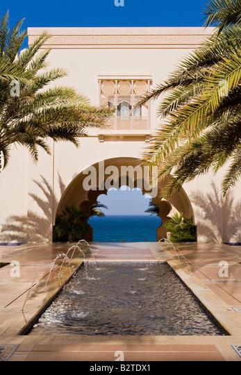 Middle East, Oman, Muscat, Al Jissah Shangri La Resort - Stock Image