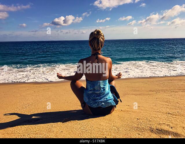 Meditation - Stock Image