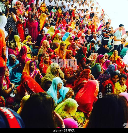 Colours of India. - Stock Image