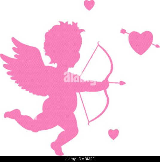 Valentine's day cupid - Stock-Bilder