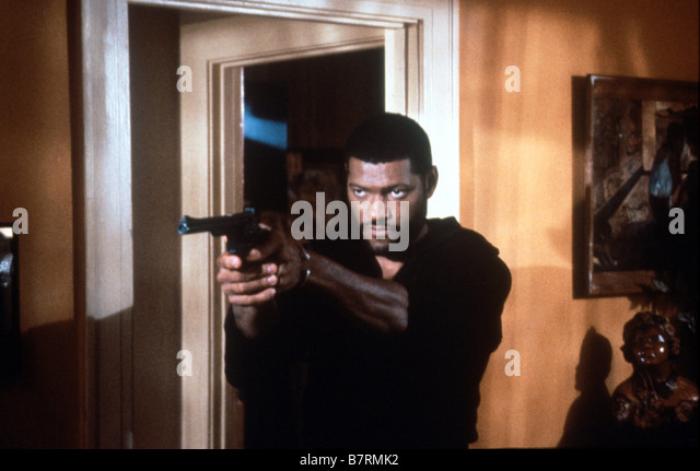 Laurence Fishburne Directed by John Singleton - Stock Image