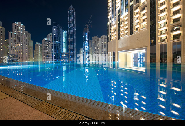 Pool bar hotel stock photos pool bar hotel stock images The address dubai marina swimming pool