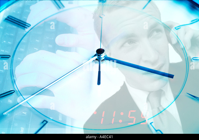 Time work money finance - Stock Image