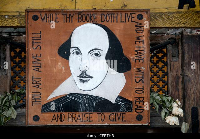 Shakespeare antiquarian books Paris France French English Book Shop - Stock-Bilder