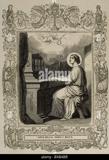 saint cecilia of rome The name of st cecilia has always been most illustrious in the church and is mentioned with distinction in the canon of the mass st cecilia was a native of rome, of a good family, and educated in the practice of the christianity in her youth she took a vow of chastity but was compelled by her parents to.