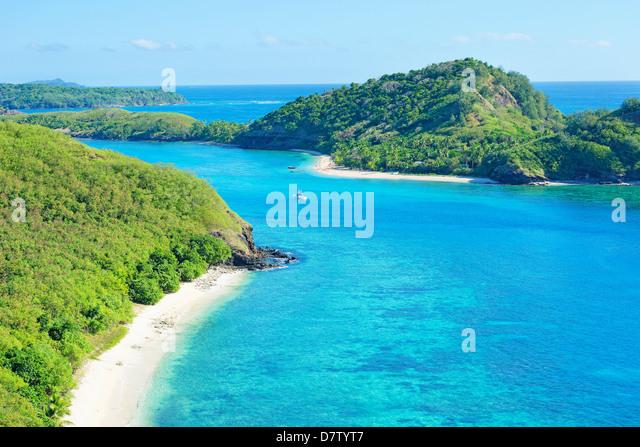 Drawaqa Island, Yasawa island group, Fiji, South Pacific islands - Stock-Bilder