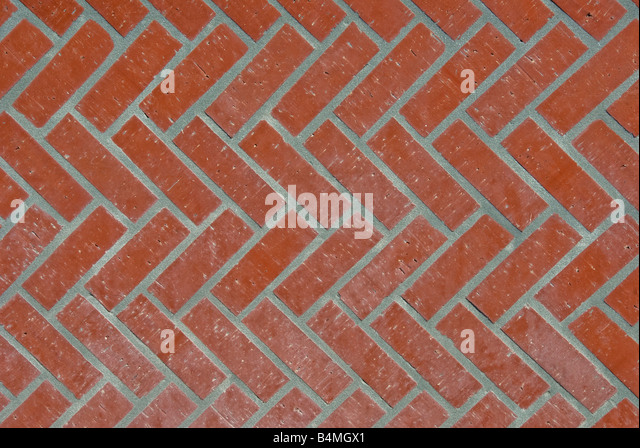Close up abstract view pattern urban architectural exterior brick repeating pattern paving, abstract, texture, urban, - Stock-Bilder