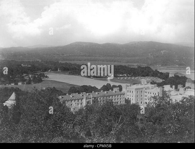 West Point military academy in the USA, 1902 - Stock Image