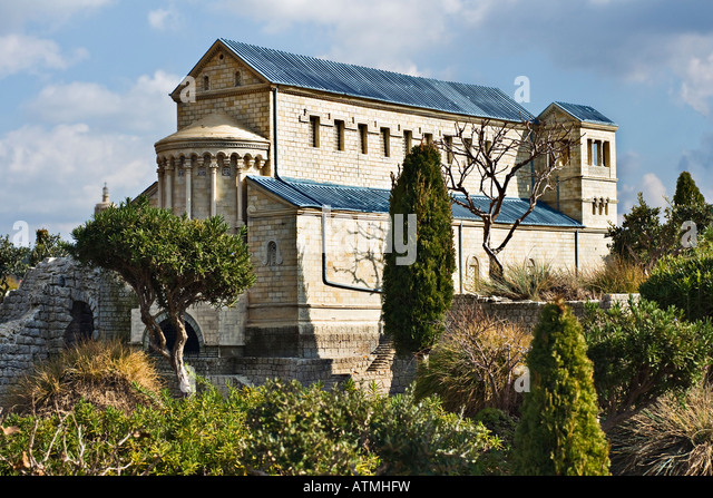 Transfiguration of Christ church, mount Tabor, Israel - Stock Image