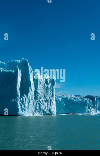 The Perito Moreno Glacier, Patagonia, Argentina - Stock Image