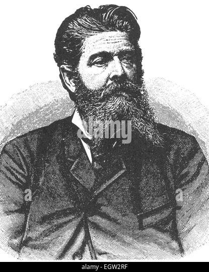 HERMANN WISSMAN (1853-1905) German explorer - Stock Image