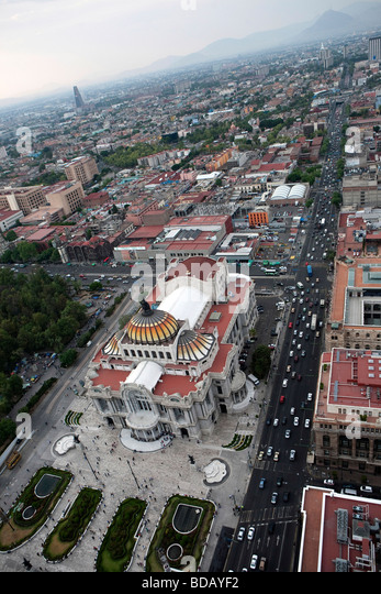 View of Mexico City - Stock Image
