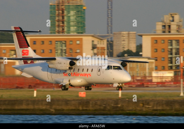 Scot Airways Dornier 328-110 - Stock Image