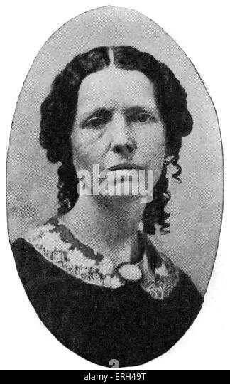 Pamela Clemens c.1850 grandmother of Mark Twain (pen name for Samuel Langhorne Clemens ) -    American author, satirist, - Stock-Bilder