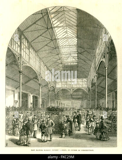 Covent garden flower market stock photos covent garden flower market st - Covent garden magasin ...