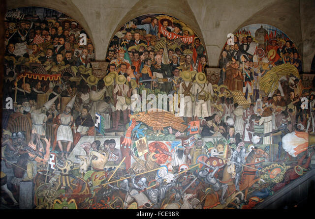 diego rivera mural mexico history stock photos diego