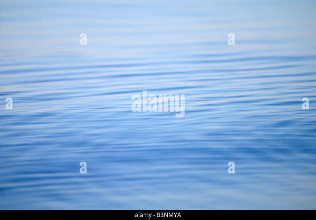 Germany, Lake Constance, Water surface - Stock Image