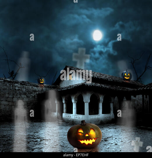 Haunted Places In Heflin Alabama: Haunted House Ghost Stock Photos & Haunted House Ghost
